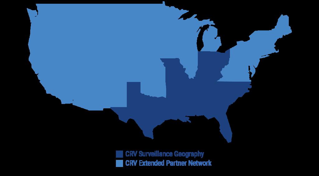 CRV Surveillance Geography