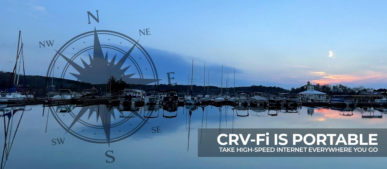 CRV-Fi is portable