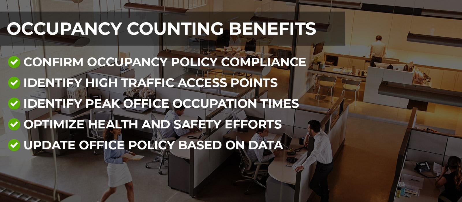 CRV Surveillance - Occupancy Counting Benefits