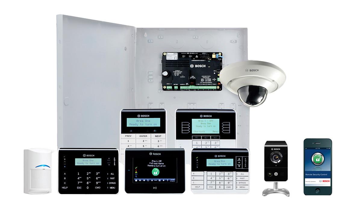 Burglar Alarm System Integration