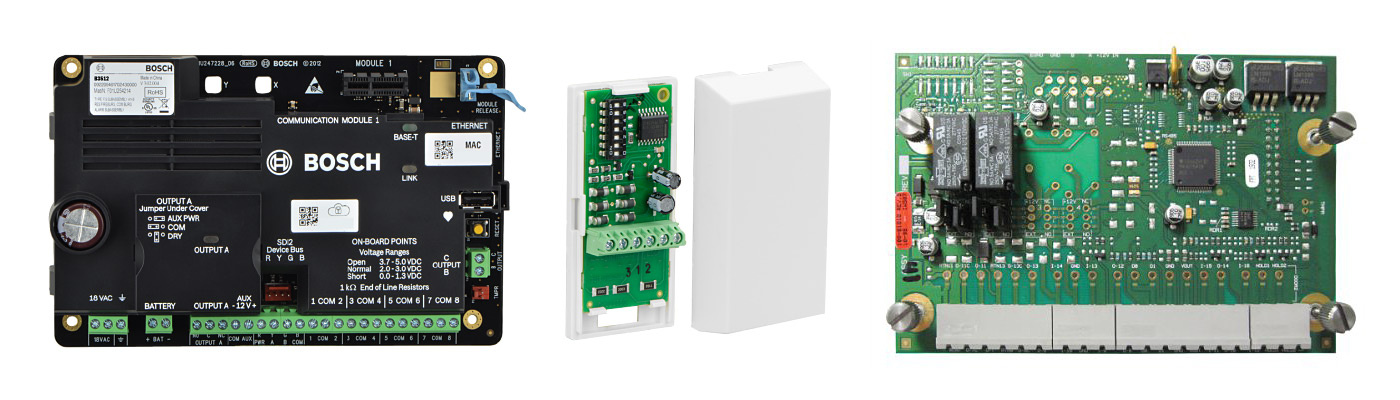 Burglar Alarm System Controller Cards