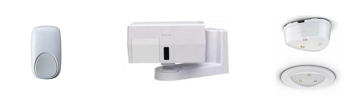 Burglar Alarm System Motion Detectors